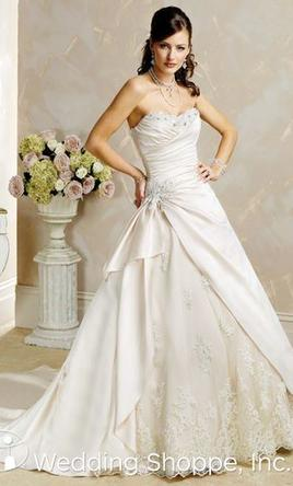 Maggie Sottero S5163sa Wedding Dress Used Size 8 500
